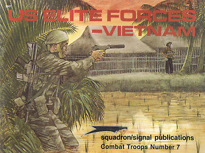 P07 US ELITE FORCES-VIETNAM, Combat Troops Nr. 7, 1985, Leroy Thompson