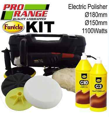 Pro Range & Farecla Car Body Car Kit Digital Polisher Liquid Scratch Removal Kit