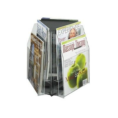 Safco Reveal 6 Magazine Tabletop Displays - 5698CL