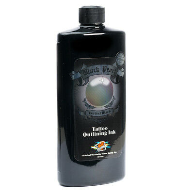 Millennium Mom's Tattoo Ink Black Pearl Brand Outlining Ink 12 oz