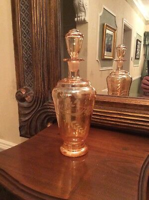 Crystal Cut Glass Decanter