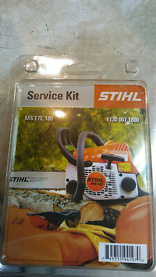 Stihl tune up kit ms170 ms 180 chainsaws 1130 007 1800