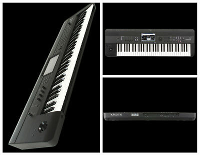 Korg KROME 61 61-Note Key Workstation Keyboard Semi Weighted Keys