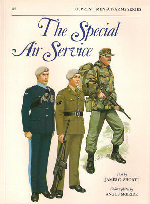 P22 Osprey Men-At-Arms Series 116: The Special Air Service, James Shortt, 1981