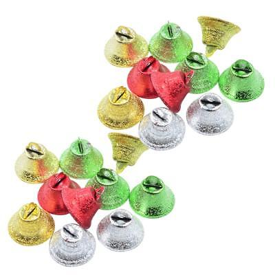 20x Colorful Jingle Bells Pendant Party/Christmas Tree Decorations/DIY Craft