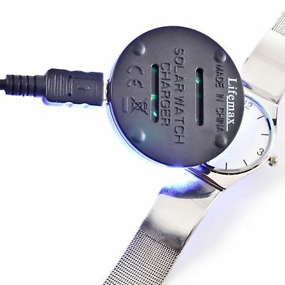 Lifemax LED Solar Watch Charger