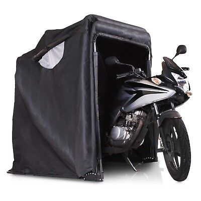 Folding garage cover for scooter bike motorcycle quad - Motorcycle foldable garage tent cover ...