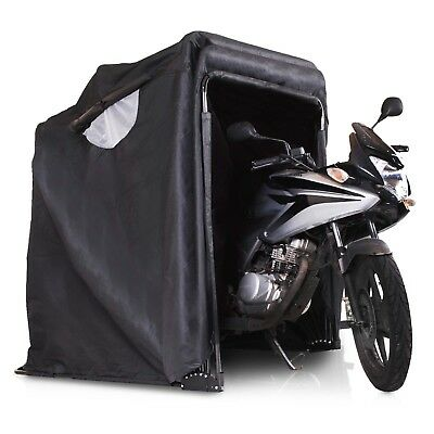 Folding Garage Cover For Scooter Bike Motorcycle Quad Moped Storage Shelter