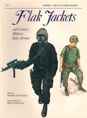 P33 Osprey Men-At-Arms Series 157: FLAK JACKETS, 20th Century Military Body A.