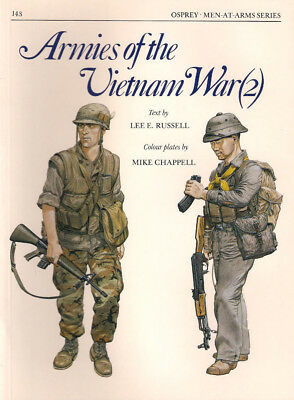 P34 Osprey Men-At-Arms Series 143: ARMIES OF THE VIETNAM WAR (2), Lee E. Russell