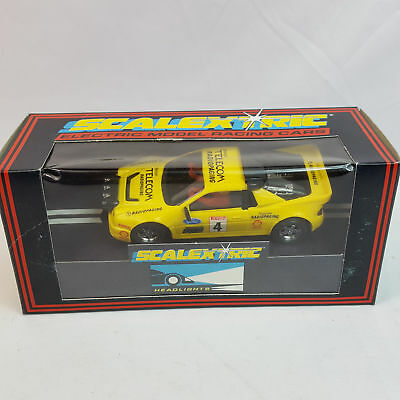 vintage Scalextric C429 Ford RS200 Radiopaging Cosworth Slotcar 1/32 TOP OVP