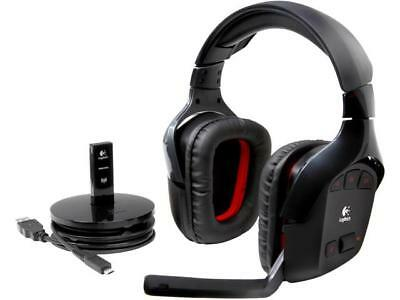"Headset Wireless Logitech G930 USB ""655123"""