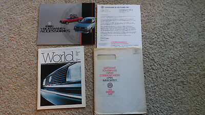 1985 Introductory Issue Volkswagen's World and Accessories Brochure, and More