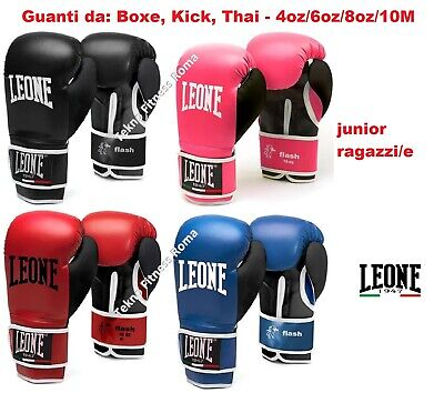 Guantoni da Boxe Leone Flash Junior  GN083 - 4/6/8/10OZ M BOXE KICK THAY