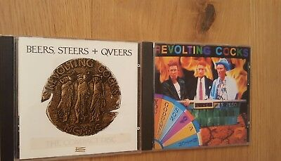 Revolting Cocks Beers, Steers + Qveers und Live! You Goddamned son 2 CD's