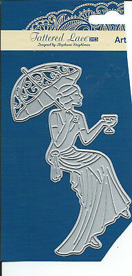 Tattered Lace Stanze Art Deco Dame u. Coktail