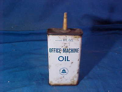 1940s BELL System TELEPHONE HANDY Household 4 oz OFFICE MACHINE OIL TIN