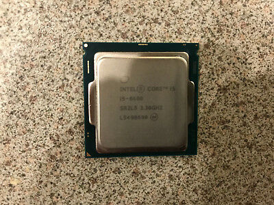 Intel Core i5-6600 (4x 3.30GHz) SR2L5 Skylake CPU Sockel 1151