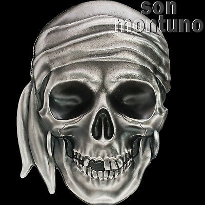 2017 Palau - PIRATE SKULL - 1 oz Silver $5 Coin in Box + COA - SOLD OUT AT MINT