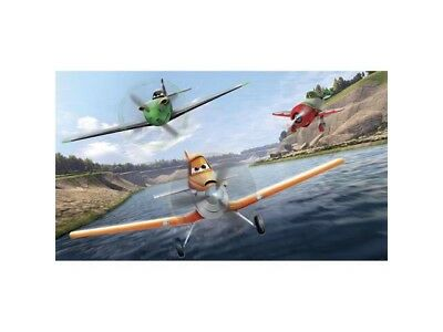 RoomMates Disney Planes XL Chair Rail Prepasted Mural 6' X 10.5' Foot New