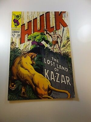Incredible Hulk #109 FN condition Free shipping on orders over $100.00!