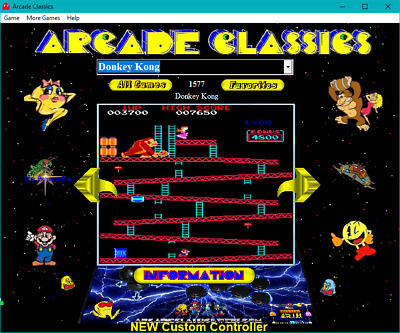 Arcade Classics for Windows 7, 8, 10 on DVD  - 1,500 + Games   2018