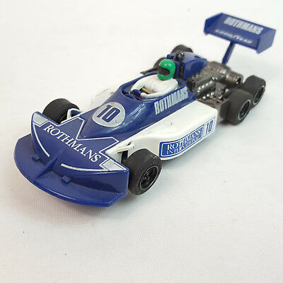 vintage Scalextric C129 F1 March Ford Rothmans 6 Wheeled 1/32 Carrera Stabo