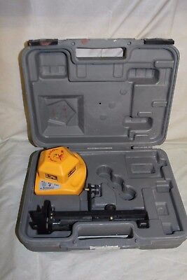 Pacific Laser Systems PLS360 360-Degree Self-Leveling Visible Beam Laser w/ Case