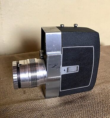 Vintage Bell and Howell zoomatic 8mm director series movie camera with case