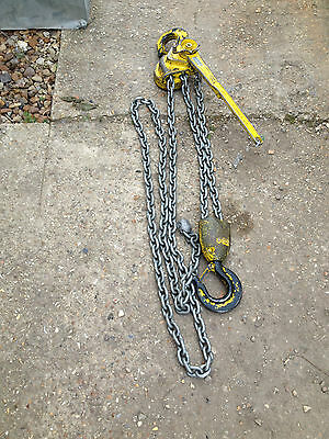 Yale D85 6000kg 6 Ton Chain Hoist Year 2014 Free Postage