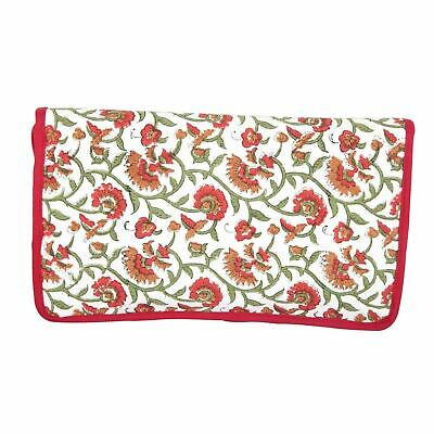KnitPro Hand Block Printed Fabric Assorted Needles Case