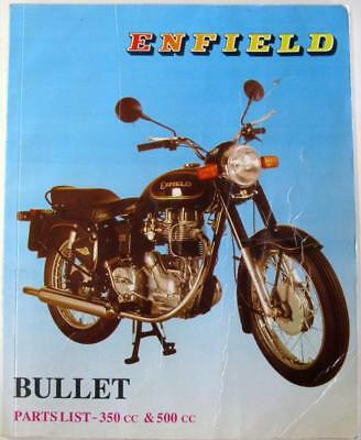 ROYAL ENFIELD Bullet 350cc 500cc May 1994 #142145 Motorcycle Owner Parts List