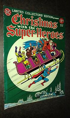 DC TREASURY Edition -- Christmas With the Super Heroes (C-43) -- 1976 - Fine