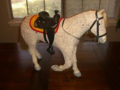"""RETIRED American Girl Picasso Saige's Horse For 18"""" Dolls"""