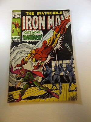 Iron Man #10 VG+ condition Huge auction going on now!