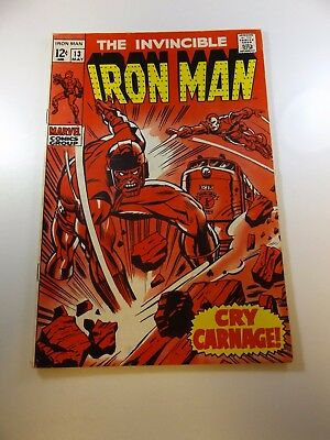 Iron Man #13 VG condition Free shipping on orders over $100.00!