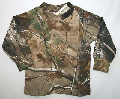 Realtree Apg Baby Infant Camouflage Long Sleeve Shirt - Boys Camo