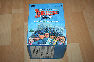 Thunderbirds Complete Series Limited Edition 9 Dvd Boxset