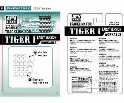 AFV-Club 48004 TRACK LINK TIGER I EARLY in 1:48