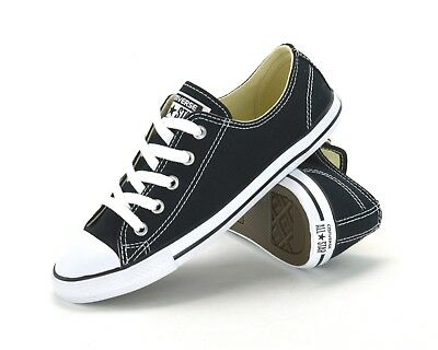 CONVERSE ALL STAR Ct Dainty Ox -530054C -Womens Sneakers -Black/White  -Brand New