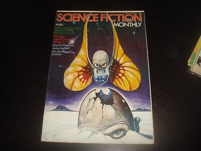 SCIENCE FICTION MONTHLY Vol. 2 #1   New English Library Tabloid 1974 FN