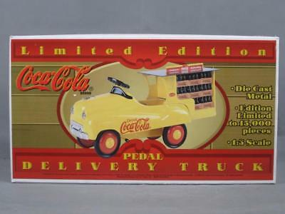 New Vintage Limited Edition Coca-Cola Pedal Delivery Truck 1:3 Scale Model