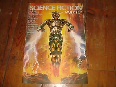 SCIENCE FICTION MONTHLY Vol. 1 #10   New English Library Tabloid 1974 FN