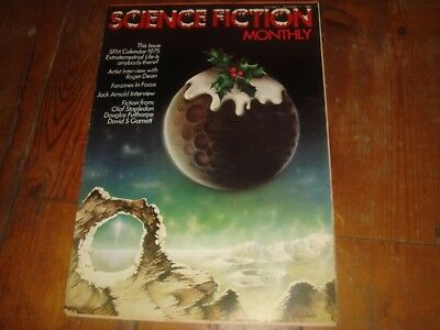 SCIENCE FICTION MONTHLY Vol. 1 #11   New English Library Tabloid 1974 FN