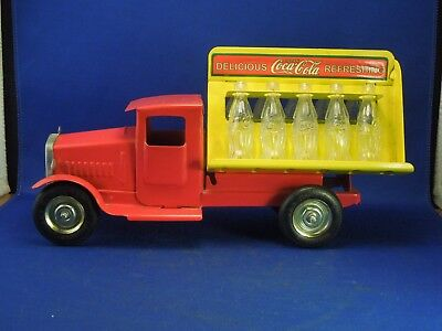 Vintage Drink Coca-Cola Tin Delivery Truck - Metalcraft Gearbox Reproduction