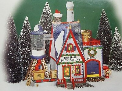 Department 56  NORTH POLE Series REAL PLASTIC SNOW FACTORY~New!