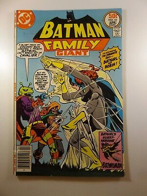 "Batman Family #10 ""Those Were The Bad Old Days!"" VG+ Condition!!"