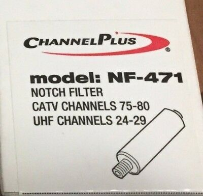 ChannelPlus Notch Filter - Local Camera Added to Apt Bldg's Cable TV FREE SHIP