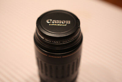 Canon EF 100-300mm f/4.5-5.6 USM Lens with Filter