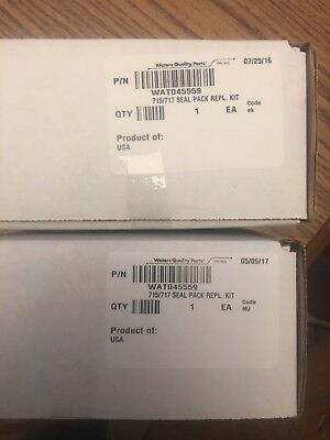 2 New Waters Quality Parts 715/717 Seal Pack Replacement Kit  P/n Wat045559